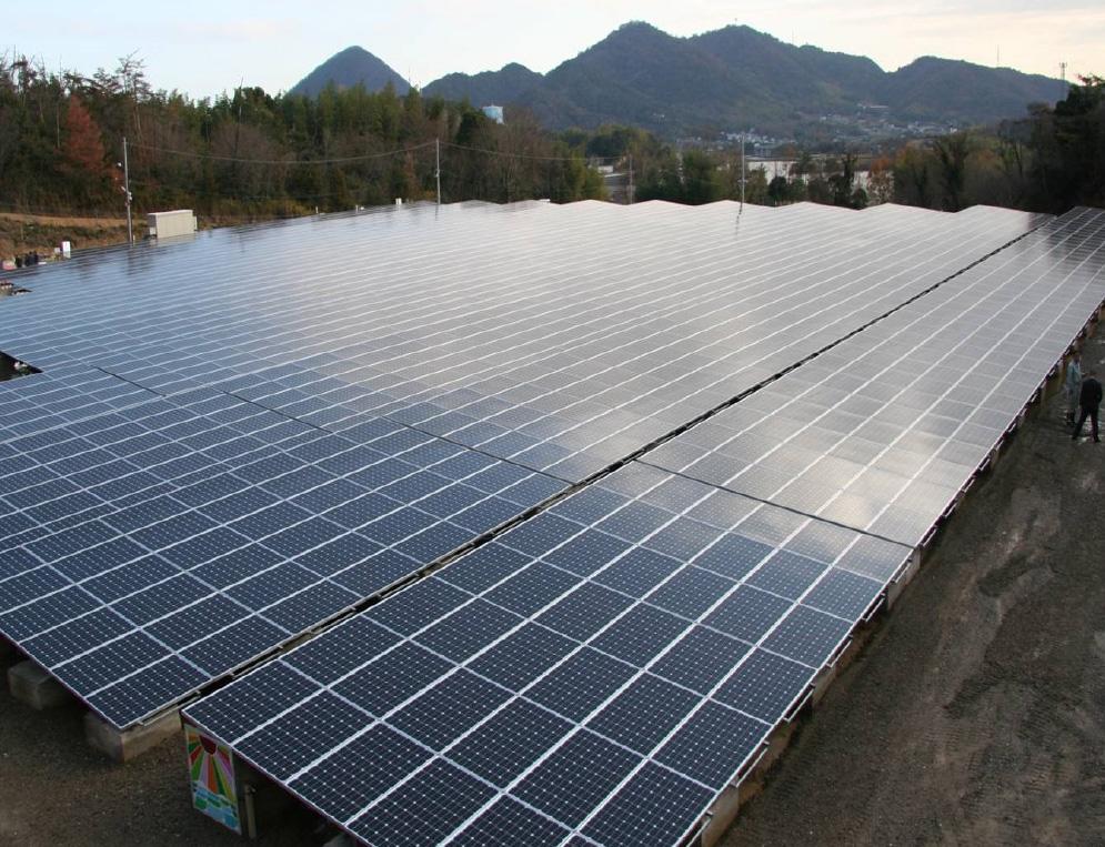 商品画像:産業用太陽光発電システム